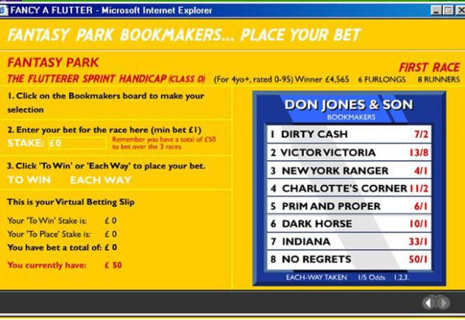 BRITISH HORSERACING BOARD - Website Screenshot