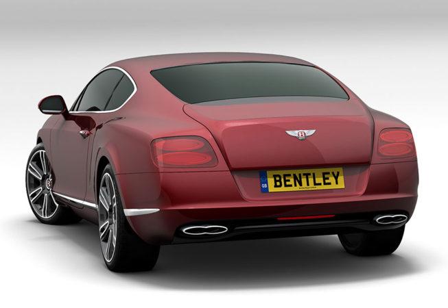 BENTLEY GT - Autodesk Showcase Rendering
