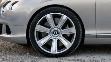 Bentley Motors: Continental GT Wheels