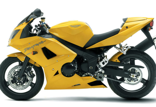 TRIUMPH DAYTONA 600 - Press Image