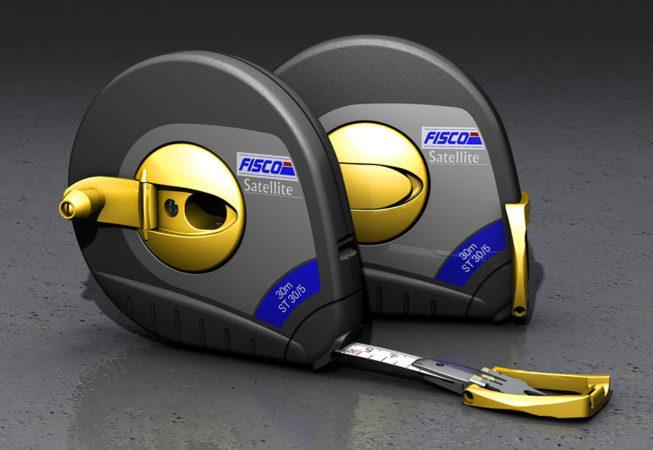 FISCO SATELLITE TAPE MEASURE - Autodesk Showcase Rendering