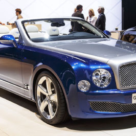 Bentley Grand Convertible unveiling