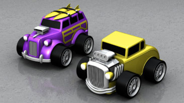 Mattel: Hotwheels Rev Up's