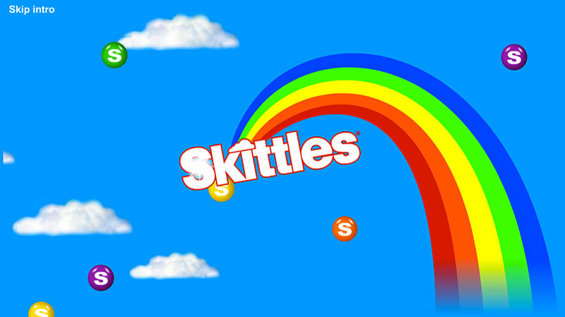 MARS CONFECTIONERY  -Skittles Website Screenshot
