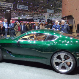 Bentley EXP10 Speed 6 premier at the Geneva Motor Show