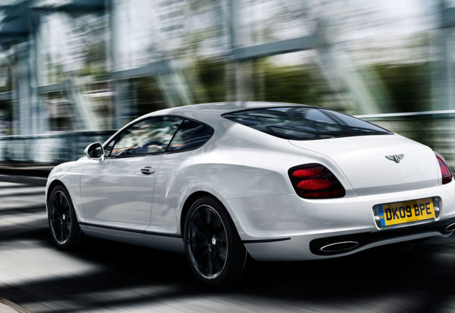 BENTLEY GT SUPERSPORTS - Official Press Image