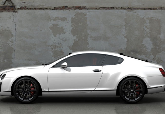 BENTLEY GT SUPERSPORTS - Autodesk Showcase Rendering