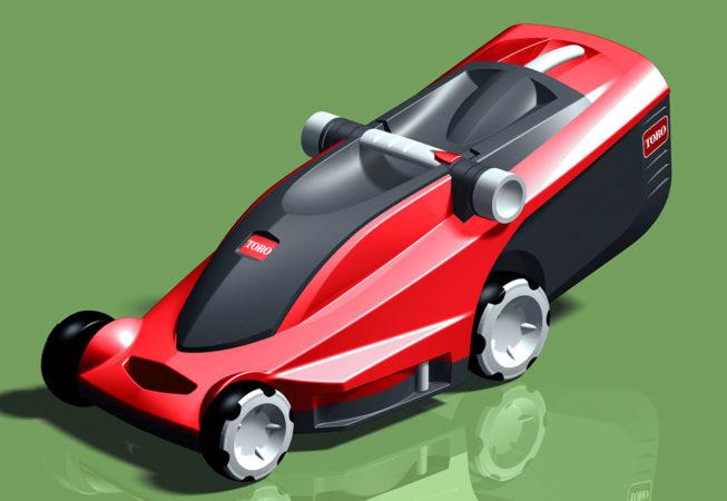 TORO EUROCYCLER - Autodesk Alias Surface Rendering