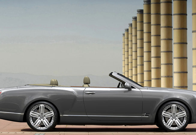 BENTLEY GRAND CONVERTIBLE - Autodesk Showcase Rendering