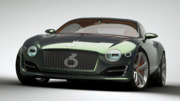 Bentley Motors: EXP10 Speed 6 Concept