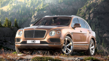 Bentley Motors: Bentayga