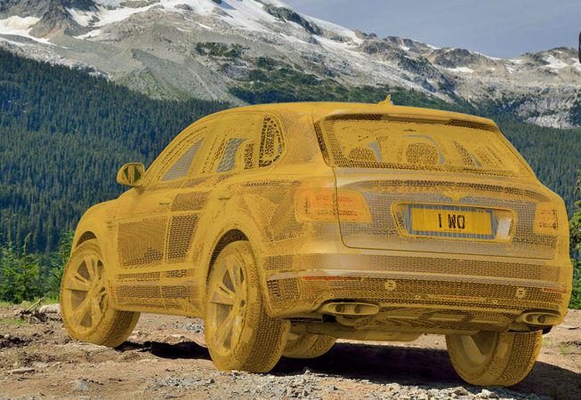 BENTLEY BENTAYGA - Autodesk VRed Screenshot