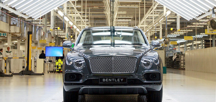 BENTLEY BENTAYGA - Official Press Image