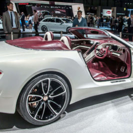 Bentley EXP10 Speed 6e premier at the Geneva Motor Show