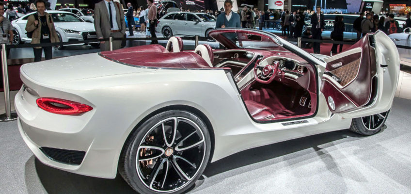BENTLEY SPEED 6e - Press Image