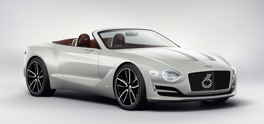 BENTLEY SPEED 6e - Official Press Image