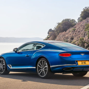 The All-New Bentley Continental GT Announced