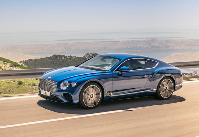 BENTLEY CONTINENTAL GT - Official Press Image