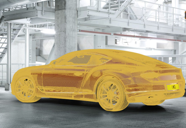 BENTLEY CONTINENTAL GT - Autodesk VRed Screenshot