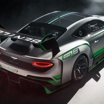 Bentley Reveals New Continental GT3 Race Car