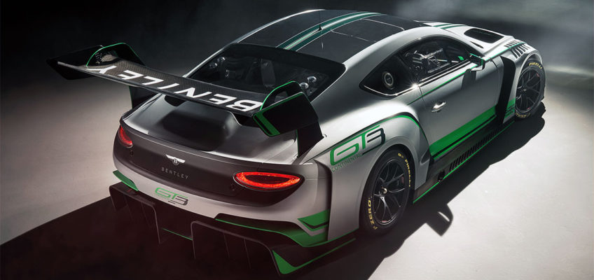 BENTLEY CONTINENTAL GT3 RACE CAR - Official Press Image