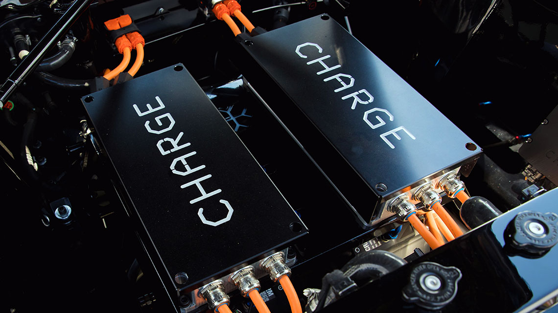 CHARGE ELECTRIC MUSTANG - Official Press Image